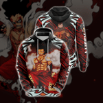 Luffy Snakeman Unisex 3D Hoodie