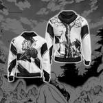 Gintama Manga Unisex Zip Up Hoodie
