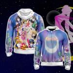 Sailor Moon S Group Zip Up Hoodie