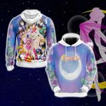 Sailor Moon S Group Unisex 3D Hoodie