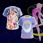 Sailor Moon S Group Unisex 3D T-shirt