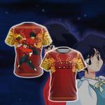 Ranma ½ Ranma New Unisex 3D T-shirt