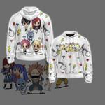 Fairy Tail Chibi Unisex Zip Up Hoodie