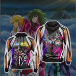 Saint Seiya New Version Unisex Zip Up Hoodie