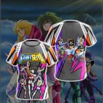 Saint Seiya New Version Unisex 3D T-shirt