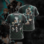 Psycho-Pass Unisex 3D T-shirt