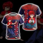 Ranma ½ Cute Unisex 3D T-shirt