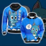 Fairy Tail Happy Unisex 3D Hoodie