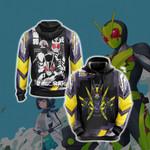Kamen Rider Zero One Unisex 3D Hoodie