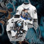Shaman King Usui Horokeu Unisex 3D Hoodie