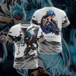 Shaman King Usui Horokeu Unisex 3D T-shirt
