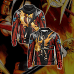 Shaman King Yoh Asakura Unisex Zip Up Hoodie