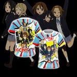 K-On! New Unisex 3D T-shirt