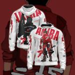 Kaneda Akira Unisex Zip Up Hoodie