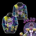 Jojo's Bizarre Adventure - Star Platinum Gym Unisex 3D Hoodie