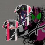 Kamen Rider Decade Unisex 3D T-shirt