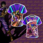 Jojo's Bizarre Adventure - Joseph Joestar New Unisex 3D T-shirt