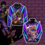 Jojo's Bizarre Adventure - Joseph Joestar New Unisex 3D Hoodie