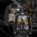 Bleach New Look Unisex Zip Up Hoodie