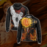 The Seven Deadly - Sins Escanor New Style Zip Up Hoodie