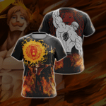 The Seven Deadly - Sins Escanor New Style 3D T-shirt