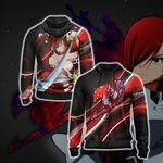Fairy Tail - Erza Scarlet New Style Unisex Zip Up Hoodie