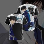 Fullmetal Alchemist - Roy Mustang New Style Unisex 3D T-shirt