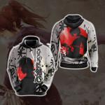 Rurouni Kenshin New  Look Unisex 3D Hoodie