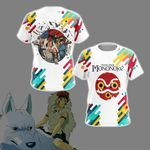 Princess Mononoke New Version Unisex 3D T-shirt