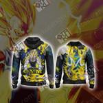 Dragon Ball - Majin Vegeta New Unisex Zip Up Hoodie