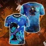 Yu-Gi-Oh! Yusei Fudo And Stardust Dragon Unisex 3D T-shirt