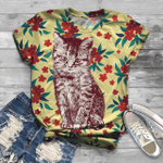 Cat T-Shirts All Over Print T-Shirt S-5Xl