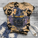 Cat Lover T-Shirt All Over Print T-Shirt S-5Xl