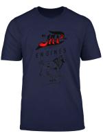 Vintage Jap Engines Motorcycle T Shirt