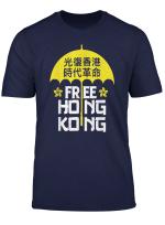Free Hong Kong Chinese Resistance Gift T Shirt