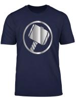 Mjolnir Thor S Hammer T Shirt Odin Valhalla Power Sky Storm