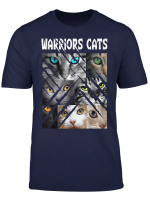 Warriors Cats Eye Cats For Cat Lover Kitten Warrior Gift T Shirt