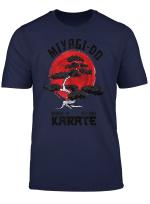 Vintage Retro Miyagi Do Karate Distress Girl Power Kid T Shirt