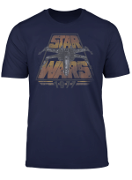 Star Wars X Wing 1977 Vintage Retro Graphic T Shirt