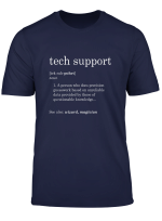 Funny Tech Support Definition T Shirt