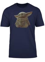 Star Wars The Mandalorian The Child Portrait T Shirt