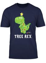 T Rex Dinosaurier Weihnachtsbaum Witzig Weihnachten T Shirt