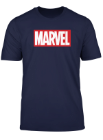 Marvel Classic Bold Logo Graphic T Shirt