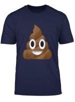 Emoji Poop Pile Of Poo Funny Emoticon Texting T Shirt