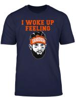 I Woke Up Feeling Dangerous 6 Funny T Shirt Football Shirt T Shirt