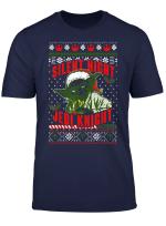 Star Wars Yoda Silent Night Jedi Knight Christmas Sweater T Shirt