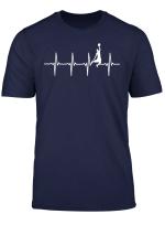 Basketball Heartbeat Basketball Player Basketballer Gift T Shirt