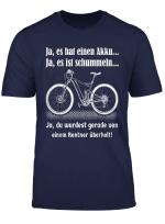 Herren T Shirt E Bike Rentner Fahrrad Ebike Elektrofahrrad Spruch