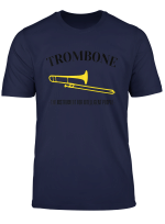 The Instrument For Intelligent People Funny Trombone T Shirt