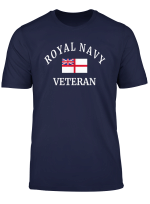 Navy Veteran T Shirt Proud Royal British Gift Top